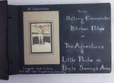 "1920's/Pre WW2 Camp Knox ""Barrack Room Ballads"" Photo Album/Scrapbook – Named"