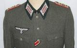 WW2 German Artillery Captain's M41 Uniform Jacket-361st Artillery Battalion