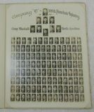 Rare Original 82nd Airborne Photo Roster Of Company D 508th Parachute Infantry