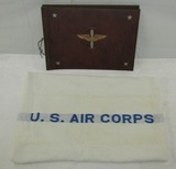 2pcs-WW2 U.S. Army Air Corp Unused Photo Album/Scrapbook-Rare Air Corps Bath Towel