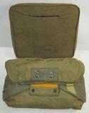 2pcs-WW2 U.S. Army Corp Parachute Seat Cushion/Air Corp-Paratrooper A-4 Parachute Pack