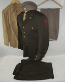 ww2 Period U.S. Army Air Corp CBI Theater Uniform Grouping-Named To Lt. Col.