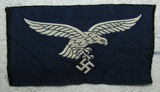 Bevo Embroidered Luftwaffe Breast Eagle For Enlisted