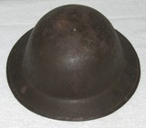M1917 U.S. Doughboy Helmet With Subdued 5th Division Insignia