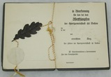 Rare Waffen SS Sports Award Booklet-Dachau Concentration Camp