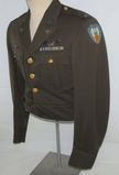 WW2 9th Army Air Forces Officer's Ike Jacket With Bullion Collar/Patch Insignia