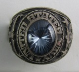 WW2 period USN Class Ring-Sterling By Jostens