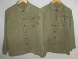 2pcs-WW2 USMC HBT Utility Shirts/Jackets