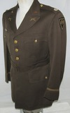 WW2 Period 83rd Division U.S. Army Officer's 4 Pocket Tunic-Bullion Patch