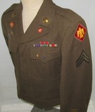 WW2 U.S. Enlisted Soldier 45th Division Ike Jacket