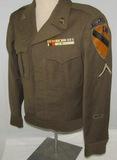 WW2/Korean War Period 1st Cavalry Ike Jacket With Bullion