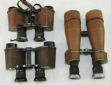 3 Pair WW1/Pre WW2 Period USN Binoculars