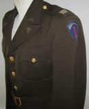 WW2 Occupation/Early Korean War U.S. Army Medical Officer Tunic-Bullion Insignia-Named