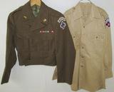 WW2 Occupation Jacket/Shirt Worn By U.S. Trieste Troops