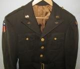 Named WW2 U.S. CBI Theater Army Air Corp 4 Pocket Tunic