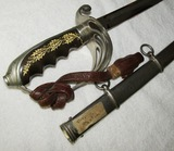 Deluxe Style M1906 U.S. Officer's Sword - Named