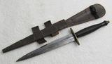 WW2 Period?  3rd pattern Fairburn-Sykes British Commando Fighting Knife-Rare Maker