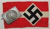 2pcs-Hitler Youth Armband/Belt Buckle