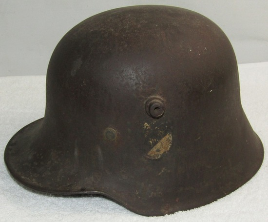 M18 German Helmet With Partial Double Decals-Freikorps?