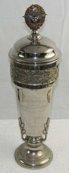Rare Pre WW2 DLV Pilot's Club Award Trophy For Best Pilot