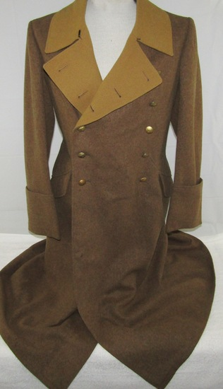 WW2 German Political Leader's Double Breasted Wool Overcoat
