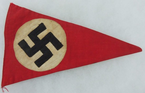 1936 Reichsparteitag Rally Pennant