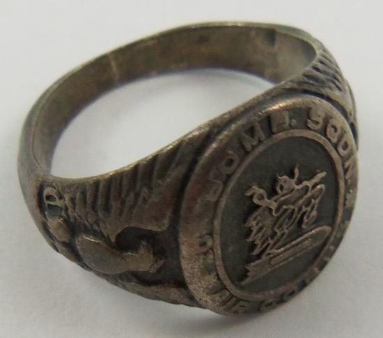 20th Bomb Squadron WW2 U.S. Army Air Corps Airman's Ring