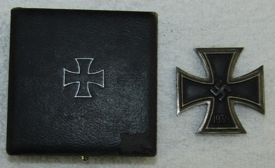 WW2 German Iron Cross 1st Class With LDO Case