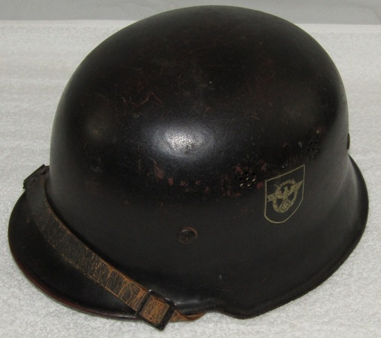 Double Decal Civil/Fire Police Helmet-Named Liner