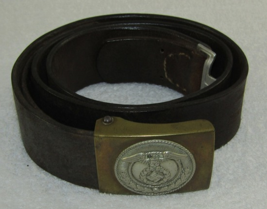 SA Belt With Buckle For NCO/Enlisted