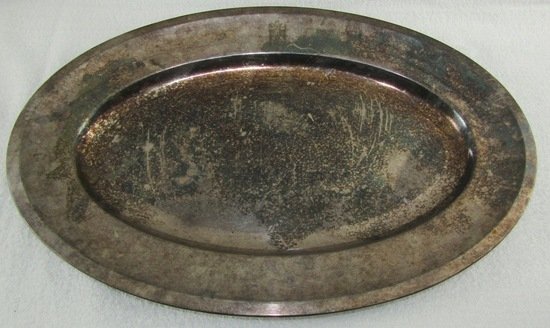 Rare Large Reichs Chancellery Silver plate Serving Tray
