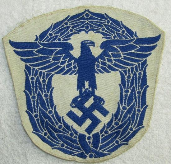 WW2 German Customs? Sports Shirt Eagle