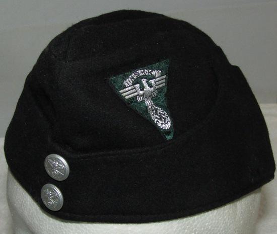 WWII Garrison/Overseas Cap For NSKK Officer