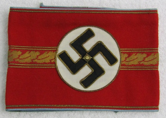 """Rare Unissued Orts Level """"Ortsgruppenleiter"""" Armband W/RZM Tag"""