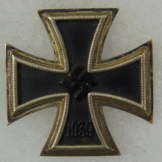 WWII  Iron Cross 1st Class