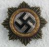 WW2 German Cross In Gold-Zimmermann-Heavy Version-Combat Worn!