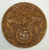 Unique One Of A Kind Early Nazi Party Hand Carved Wood Plaque-Artist Signed-Dated 1933