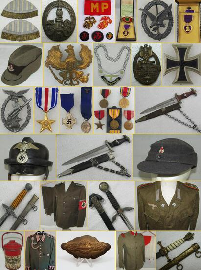MILITARY COLLECTIBLES AUCTION  SEPT. 10, 2019