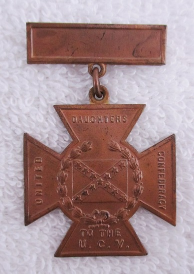 Civil War  Southern Cross of Honor-Daughters of Confederacy