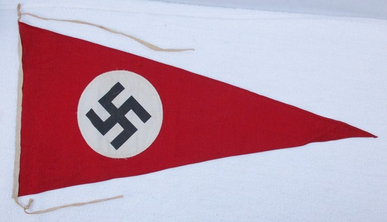 Double Sided NSDAP Pennant