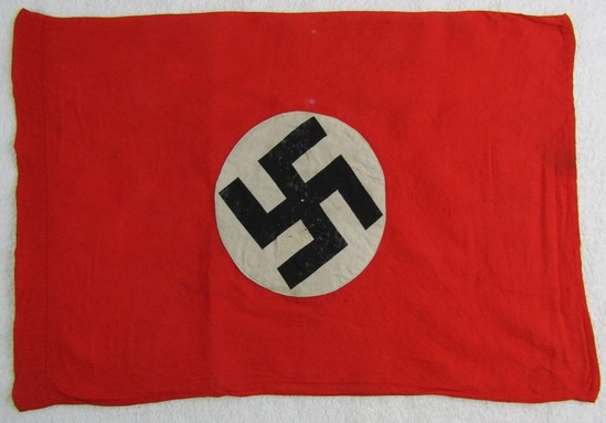 Smaller NSDAP Double Sided Flag
