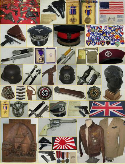MILITARY COLLECTIBLES AUCTION  OCT. 22, 2019 5PM