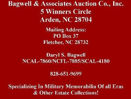 AUCTION DATE & TIME--TUESDAY OCTOBER 22, 2019 STARTING @ 5:00 PM EST