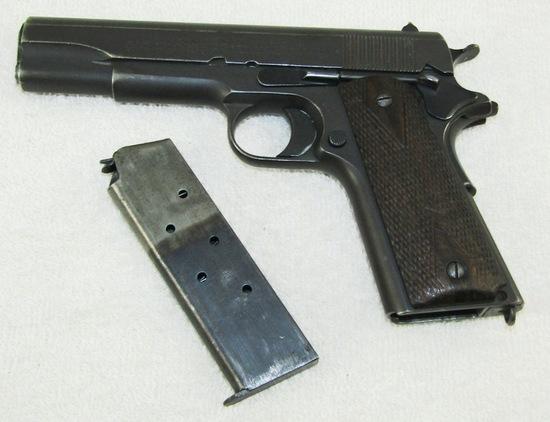 WW1 Period Remington Arms UMC M1911 .45 Pistol-1919 Serial Number