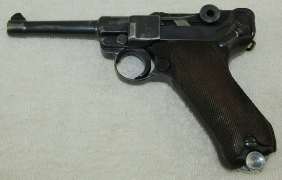 1937 S/42 Code Luger With Nazi Proofs-Matching Numbers