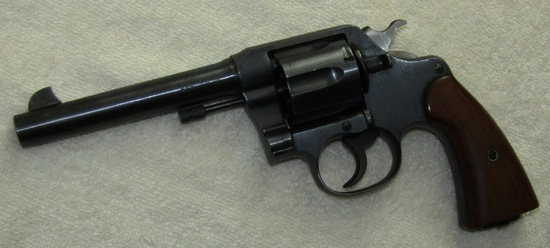U.S. Army Model 1917 Colt DA 45 Revolver