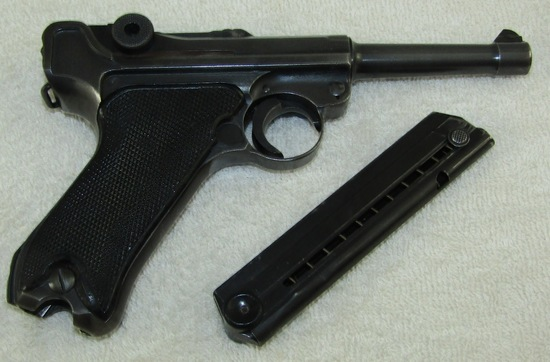 "Matching Numbers Mauser ""byf 42"" Black Widow Luger W/fxo Clip"