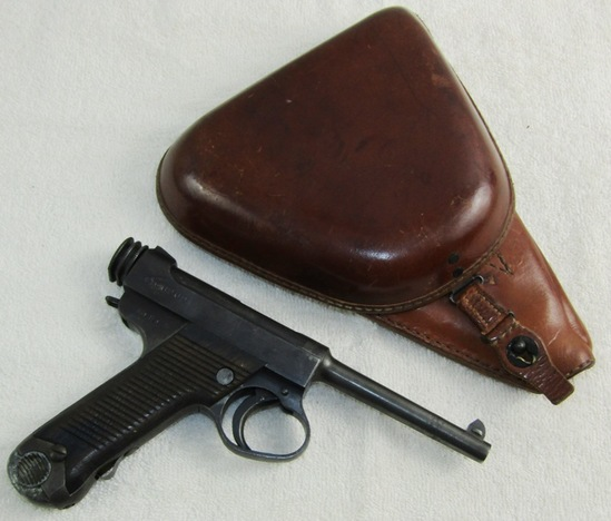 Mid War Japanese Type 14 Pistol With Holster