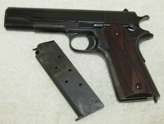 Pre WW1 Colt M1911 .45 Pistol With Clip-1914 Serial Number