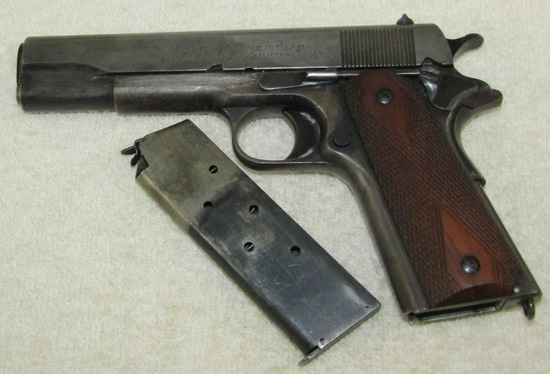 WW1 Period Colt M1911 .45 Pistol-1918 Serial Number